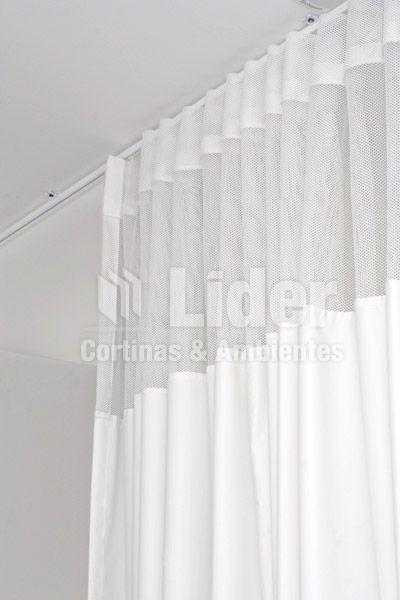 Rieles curvos para cortinas riel extensible pared decorline with rieles curvos para cortinas - Cortinas y rieles ...