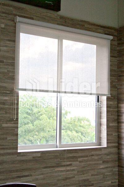 Enrollables cortinas persianas cenefas panel - Persianas de tela enrollables ...