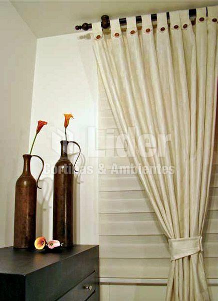 Cortineros l nea madera cortinas persianas cenefas for Ganchos para cortinas de madera